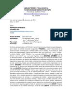 OFICIOS NOTIFICA AUTO ADMISORIO A.T. 2019-00215