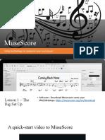 Musescore project Yr 10