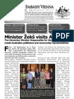 Australian Embassy Vienna Newsletter JAN 2011