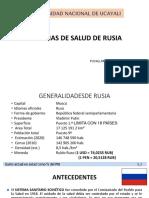 SISTEMAS DE SALUD DE RUSIA