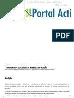 1 - Fundamentos do Cálculo de Incerteza em Medição - Incerteza de Medição _ Portal Action