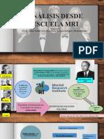 ANALISIS SISTEMICO DESDE LA ESCUELA MRI