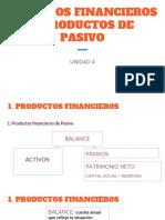 27-11 UNIDAD 4 SERVICIOS FINANCIEROS Y PRODUCTOS DE PASIVO