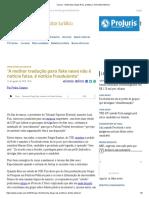 ConJur - Entrevista_ Diogo Rais, professor de Direito Eleitoral_Fake news