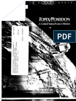 TOPEX Poseidon a United States France Mission. Oceanography From Space the Oceans and Climate