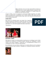 danzas tipicas Lima