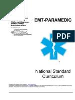 New EMT-P Curriculum[1] Copy