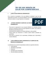 Diseño de una Sesión de Aprendizaje (2) (1)