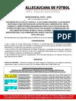 RESOLUCION 0525-2020 TORNEOS LIGA