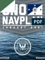 U.S. Navy Chief of Naval Operations Navigation Plan 2021