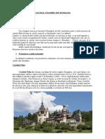 CASTELE CELEBRE DIN ROMANIA-