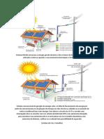 Geração de Energia solar hibrido e convencional