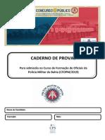 PMBA CFO 2019 - Prova