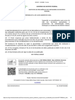 SEI_GDF - 54152882 - Portaria 04/2001 IPREV