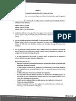 ANEXO 1 REDENCIÓN DE BONOS Y FORMA DE PAGO