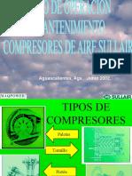 CURSO COMPRESORES AGOSTO 2001