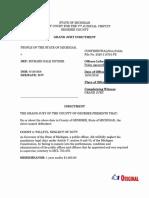 Former Gov. Rick Snyder indictment