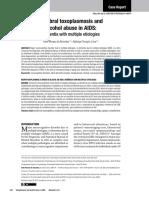 Toxoplasmosis cerebral y