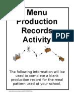 Menu_Production
