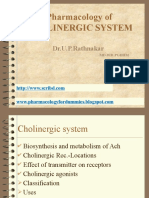 Pharmacology of Cholinomimetics BDS