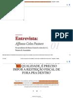 'Quando há um governo de má qualidade, é preciso impor a restrição fiscal de fora pra dentro' - Infográficos - Estadão.pdf