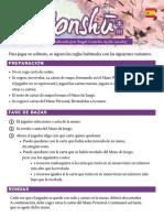 Reglas Solitario Honshu castellano