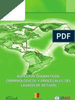 Aspectos Dogma Ti Cos Criminologicos y Procesales Del Lavado Activos 2005 RDominicana