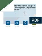 01 Matriz de identificación y evaluación de riesgos adquisición de bienes y servicios 18-01-2019