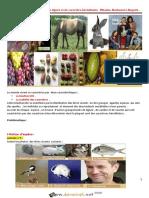Cours - SVT - Notion d'espèce , de lignée et de caractère héréditaire - 2ème Sciences (2015-2016) Mme Mbarka Harbaoui