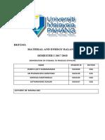 MEB PROJECT (DEHYDRATION OF ETHANOL TO ETHYLENE) (1) (1)