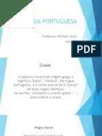 LÍNGUA PORTUGUESA - AULA 02