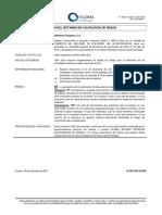 Dictamen de Destilería Carúpano, C.A. | Papeles Comerciales, Emisiones 2020-I y 2020-II
