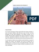 Equipo de carga y descarga en petroleros de crudo