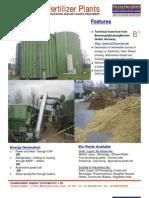 Biogas Biofertilizer Plant Literature
