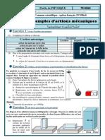 Serie Exemple Mécanique