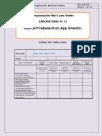 Lab13-Uso de Firebase III en AppInventor