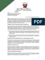 JNE rechazó apelación de Victoria Nacional y no tendrá candidatos al Parlamento Andino