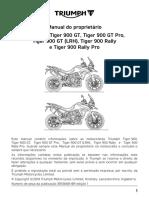 Manual Tiger 900 Series BR