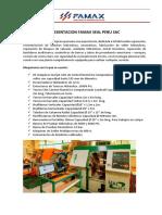 Carta de Presentacion Famax Seal Peru1