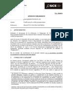 CERTIFICACION DE CREDITO PRESUPUESTARIO