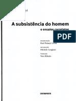 Karl Polanyi - A subsistência do homem e ensaios correlatos.pdf