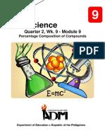 Science9_Q2_Mod9_Percentage Composition of a Compound_v3.pdf