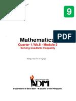 Math9_q1_mod2_Solving Quadratic Inequality_v3-1