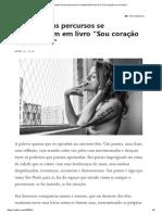 """Ryane e seus percursos se transformam em livro """"Sou coração em excesso"""".pdf"""