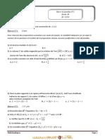Devoir de Synthèse N°2 - Math - Bac Math (2012-2013) Mr Nebti Khaled