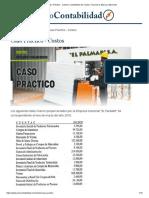 Caso Práctico - Costos _ Contabilidad de Costos, Financiera, Básica y Ejercicios