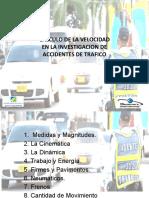 CALCULO DE VELOCIDADES