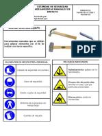 ES10-PC10 ESTÁNDAR DE SEGURIDAD HERRAMIENTAS MANUALES IMPACTO
