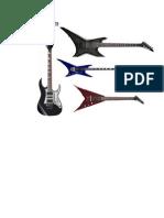 Electic guitars
