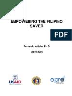 Empowering the Filipino Saver